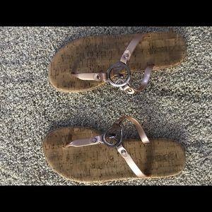 Michael Kors slip on sandal